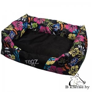 Лежак с подушкой Rogz Spice Pod Dayglo Floral