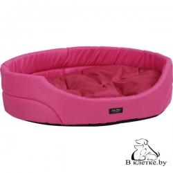 Лежак овальный для домашних питомцев Exclusive XS розовый