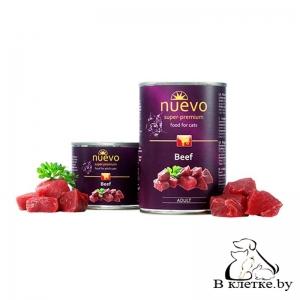 Консервы для кошек Nuevo Beef, 200гр