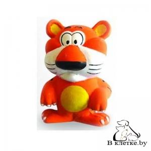 Игрушка с пищалкой для собак Lilli Pet Веселый тигр
