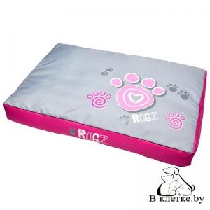 Лежак Rogz Spice Pod Flat Pink Paw