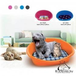 Лежанка пластиковая для кошек и собак Georplast Lettino