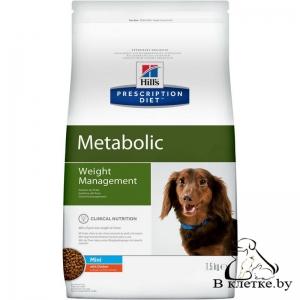 Hill's Prescription Diet Metabolic Mini Weight Management