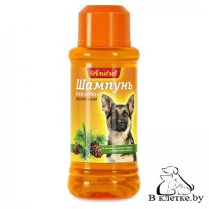 Шампунь для собак гигиенический с маслом чайного дерева и кедровым маслом Amstrel