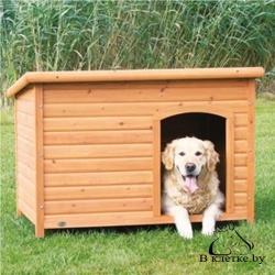 Конура для собаки с плоской крышей Trixie natura M