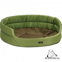 Лежак овальный для кошек и собак Exclusive XS зеленый