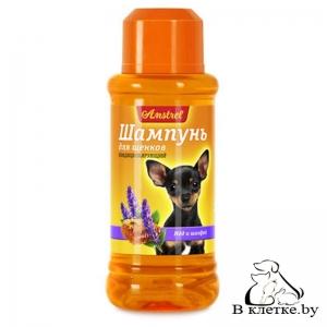 Шампунь для щенков кондиционирующий с медом и шалфеем Amstrel