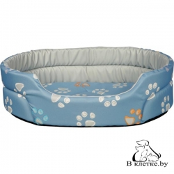 Лежанка для кошек и собак Trixie Jimmy-55 голубая