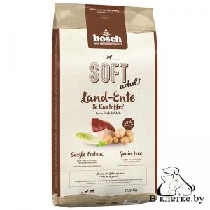 Полувлажный корм Bosch Soft Adult Утка с Картофелем