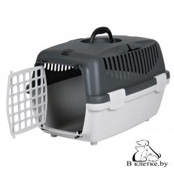 Переноска для животных до 6 кг Trixie Traveller Capri I серая