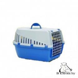 Переноска Savic Trotter 2 для кошек синяя/серая