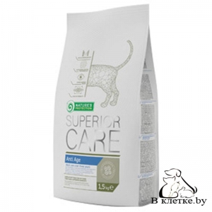 Антивозрастной корм Nature's Protection Care Anti Age Cat