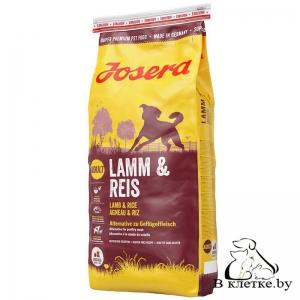 Сухой корм Josera Lamb & Rice