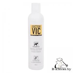 Шампунь с пантенолом для собак Doctor VIC «Липовый цвет»