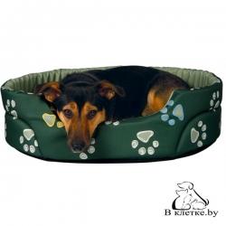 Лежанка для кошек и собак Trixie Jimmy-45 зеленая