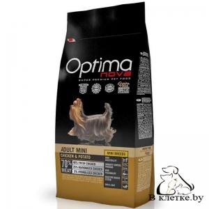Корм Optima Nova Adult Mini Chicken & Potato