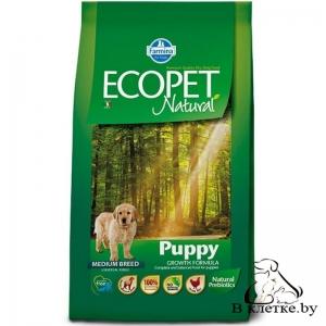 Корм Farmina Ecopet Natural Puppy MEDIUM
