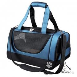 Рюкзак-переноска Trixie Jacob, 27х23х42 cм,черная/синяя