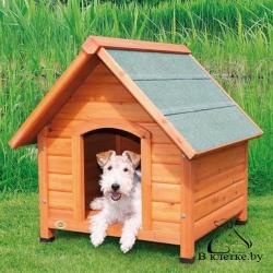 Конура для собаки с остроконечной крышей Trixie natura L 83x87x101см