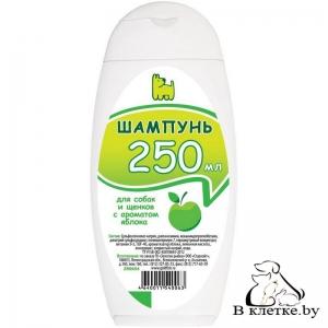 Гигиенический шампунь для собак и щенков с ароматом яблока ДокторZOO