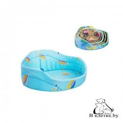 Лежанка для кошек и собак Овальная-43