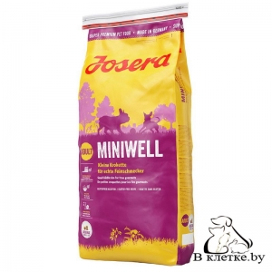 Сухой корм Josera Miniwell