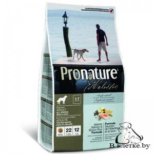 Корм Pronature Holistic Adult All Breeds Лосось и Рис