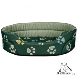 Лежанка для кошек и собак Trixie Jimmy-55 зеленая