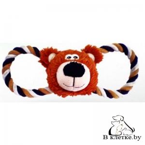 Игрушка с пищалкой для собак Lilli Pet Bear Head