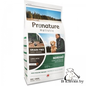 Корм Pronature Holistic GF Nordiko Large Bites