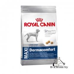 Корм собакам с чувствит. пищеварением Royal Canin Maxi Dermacomfort