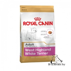 Сухой корм Royal Canin West Highland White Terrier