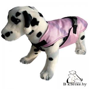Жилет-попона для собак Ami Play Розовая