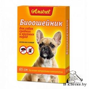 Биоошейник для собак средних и крупных пород Amstrel
