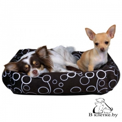 Лежанка для кошек и собак Trixie Marino-45 коричневая