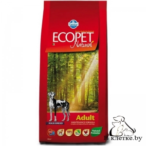 Корм Farmina Ecopet Natural Adult MAXI Курица