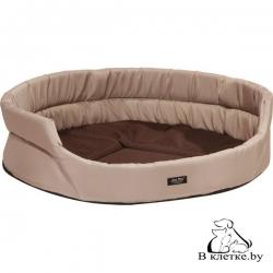 Лежак овальный для кошек и собак Exclusive XS бежевый