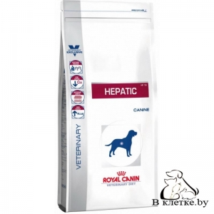 Лечебный корм Royal Canin Hepatic Canin