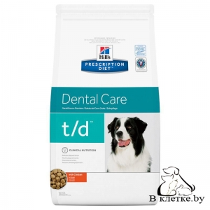 Hill's Prescription Diet t/d Dental Care
