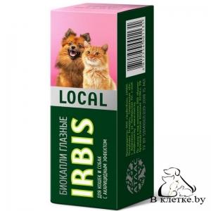 Биокапли глазные для собак и кошек Irbis Local