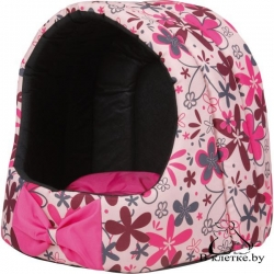 Домик для кошек и собак Crazy S розовый