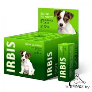 Биокапли на холку для щенков и собак мелких пород Irbis «Фортэ»