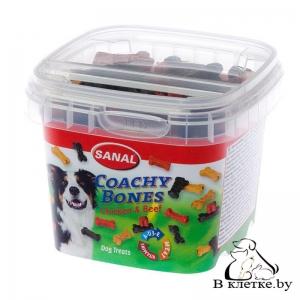Sanal для собак «Косточки для тренировок из курицы и говядины»