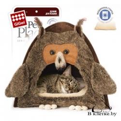 Домик для кошек и собак GiGwi «Сова»