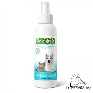 Спрей-корректор для кошек и собак ЭКО ZOOлекарь «Защита мест от царапанья и прогрызов»