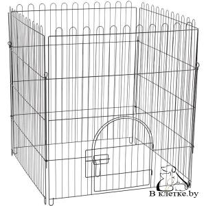 Клетка-вольер для животных из 4 секции Triol K2