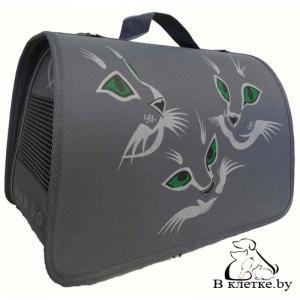 Сумка-переноска Dogman «Лира Кошки» №3