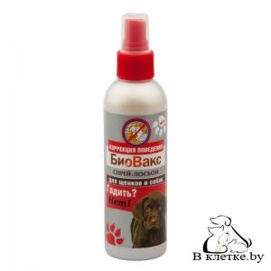 Спрей-лосьон для собак БиоВакс «Гадить? Нет!»
