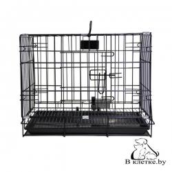 Клетка для животных с фальшдном Happy Pet 93х57х64см