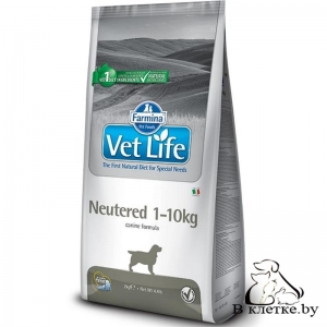 Корм Farmina Vet Life Neutered 1-10kg